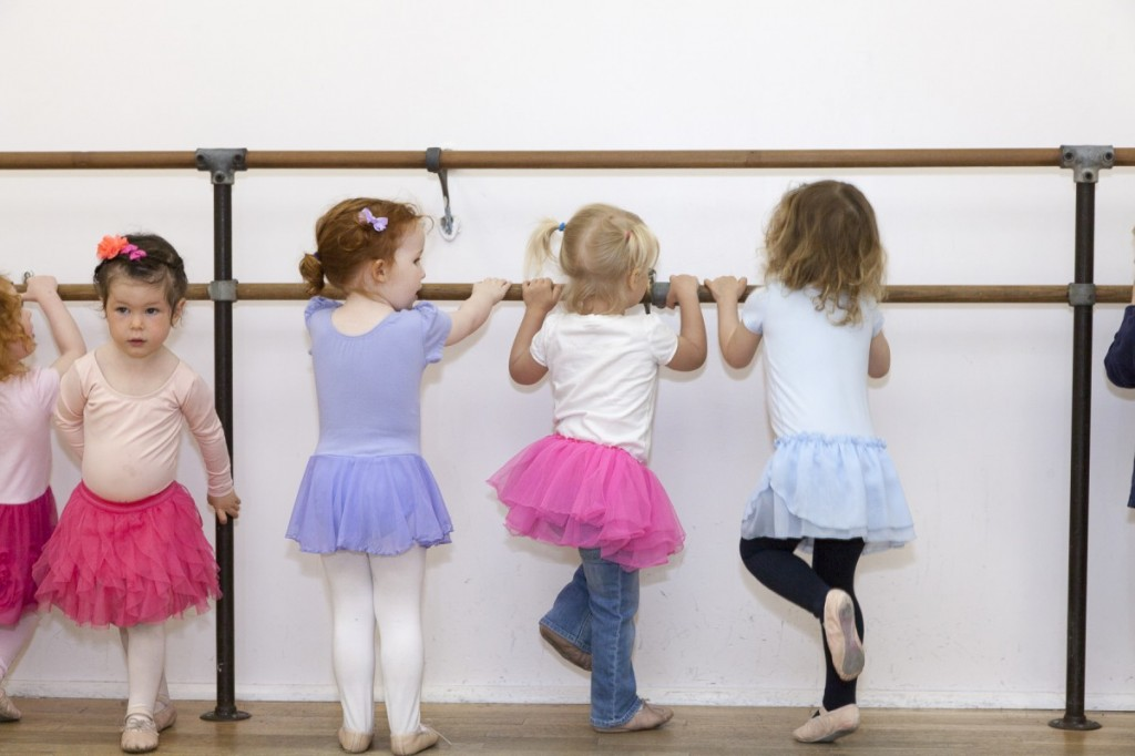 ballet barre tog Mini Movers